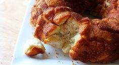 Cheesy Italian Monkey Bread (I'd like to try it with Bisquick instead of pre-made biscuits - *might* save a few calories.)