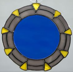 Gate Stained Glass Sun Catcher on Etsy, $34.99