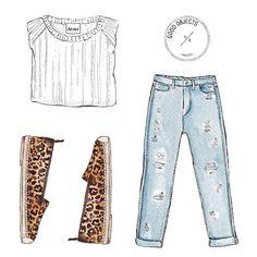 illustration fashion moda ilustracion ropa
