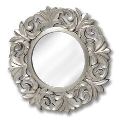 Large Baroque Circular Mirror | From Baytree Interiors