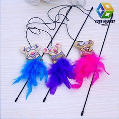 10pcs/lot cat toy Pet Cat/Kitten feather toys for cats Fun Funny Dangle False Mouse Rat