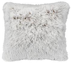 Cushion LOTUS 50x50cm fake fur brown | JYSK