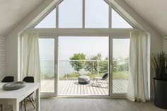 Ten klimatyzowany apartament z widokiem na morze położony jest w Mechelinkach, 30 km od Gdańska oraz 18 km od Sopotu.