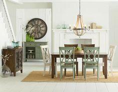 7 vintage dining room
