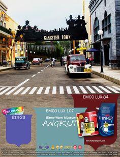 Kawan EMCO, mengunjungi museum angkut kita serasa menikmati masa-masa kecil orang tua kita dulu. Kita bisa melihat kendaraan-kendaraan yang dulu pernah ada dan tidak pernah dapat kita nikmati lagi. Terinspirasi dari warna-warni mobil kuno segarkan hunianmu dengan warna EMCO LUX 107, EMCO LUX 84 dan E14-23 dari palet EMCO. Untuk artikel menarik lainnya kunjungi kami di http://matarampaint.com/news.php.
