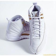Should Jordan Brand release the OVO Air Jordan 12 barneywang Jordan 23, White And Gold Jordans, Sneaker Boots, Shoes Sneakers, Cute Shoes, Me Too Shoes, Keds, Adidas, Nike Tennis