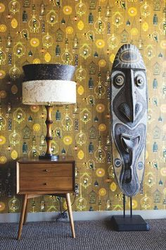 Tiki Architecture Mid Century Design moderne - Furniture, Appliances and Home Accessories - Mid Century Modern Living Room, Mid Century Decor, Mid Century Modern Design, Mid Century Modern Furniture, Modern House Design, Mid Century Modern Wallpaper, Palm Springs, Tropical, Tiki House
