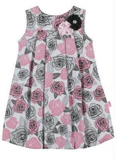 This Pin was discovered by Нат Baby Girl Frocks, Frocks For Girls, Little Girl Dresses, Girls Frock Design, Baby Dress Design, Baby Frocks Designs, Kids Frocks Design, Baby Outfits, Kids Outfits