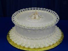 ballet shoes (Lambeth style cake)