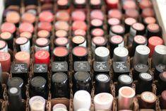 Cute Dumpling: DIY: Lipstick Organizer Home Organization Services, Makeup Organization, Homemade Essential Oils, Doterra Essential Oils, Lipstick Organizer, Diy Lipstick, Drawer Unit, Dumpling, Beauty Room