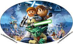 Placa Lego Star Wars:
