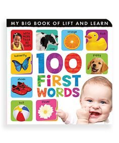 My Big Book of Lift and Learn: 100 First Words : Caterpillar Books : 9781848572836 100 Best Books, Great Books To Read, Used Books, Amazing Books, Toddler Books, Childrens Books, Baby Books, Caterpillar Book, Word Board