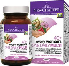New Chapter Every Woman's One Daily 40 Plus Multivitamin