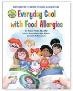 These stories of everyday events (i.e., birthday party, Halloween, etc.) highlight specific allergies in colorful pages designed to empower kids to creatively cope with food allergies. #foodallergies