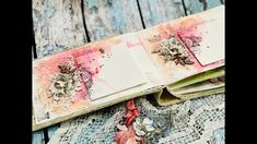 Create a Rainbow of Mini Album Pages with Anat - Lindy's Gang - vanessa Mini Albums, Mini Scrapbook Albums, Scrapbook Layouts, Scrapbook Journal, Chicken Scratch Embroidery, Vintage Moon, Girl Scout Leader, Girl Scouts, Ideas