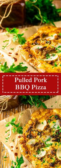 For something different on your next pizza night, you'll love this pulled pork BBQ pizza! This unique pizza features melted smoked cheese, sweet caramelized onions and tender potatoes slices and is bursting with flavor. This BBQ pizza recipe is always a crowd favorite! #pulledporkbbqpizza #bbqpizzarecipes #uniquepizzatoppingideas Bbq Pizza Recipe, Pizza Recipes, Pork Recipes, Dinner Recipes, Sausage Recipes, Dinner Ideas, Breakfast Recipes, Cooking Recipes, Bbq Pork