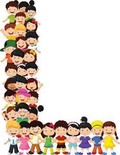 Los niños pequeños forman el alfabeto l Vector Premium Alphabet Letters Design, Alphabet And Numbers, Physical Activities For Kids, Preschool Activities, Minimalist Bullet Journal Layout, The Art Of Negotiation, Bulletin Board Borders, Letters For Kids, School Clipart