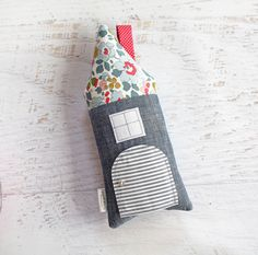 Tooth Fairy Pillow House Chambray and Liberty