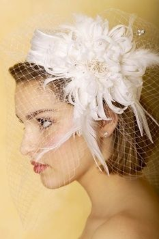 Even though I'm doing a veil I thought this was too cute not to pin.