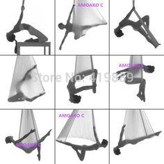 Alta qualidade Yoga rede balanço Sling trapeza multifuncional Anti gravity Yoga Swing resistência bandas Yoga cintos frete grátis em Cintos para Ioga de Esporte e Lazer no AliExpress.com | Alibaba Group