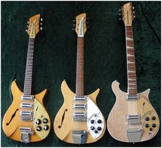 Rickenbacker Guitar, Music Machine, Guitar Collection, Custom Guitars, Vintage Guitars, Cool Tones, Cool Guitar, Musical Instruments, Good Music