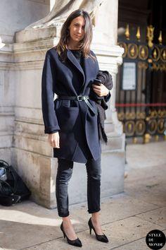 awesome Street Style : Geraldine Saglio...
