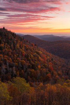 East Fork Overlook - Blue Ridge Parkway, Western NC | by Phil Varney