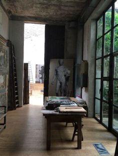 Milan artists apartment