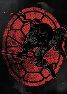 "Teenage Mutant Ninja Turtles Raphael #Displate artwork by artist ""Fanfreak"". Part of a 4-piece set featuring characters from the popular TMNT animated TV show. £39 / $52 (Medium), £79 / $106 (Large), £134 / $181 (XL) #TMNT #TeenageMutantNinjaTurtles #TeenageMutantHeroTurtles #Turtles #Leonardo #Michaelangelo #Donatello #Raphael #Shredder #Splinter #Technodrome #Rocksteady #Bebop #AprilONeil #Cowabunga Ninja Turtles Art, Teenage Mutant Ninja Turtles, Black Cartoon, Cartoon Art, Tmnt Wallpaper, Tmnt Girls, Pokemon, Arte Pop, Cultura Pop"