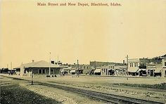 Downtown Blackfoot Idaho Places I 39 Ve Lived Pinterest Idaho United States And Rivers