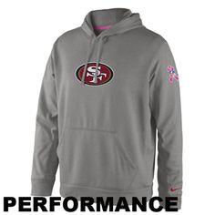 Nike San Francisco 49ers Breast Cancer Awareness Hoodie Ny Giants Apparel 67592b908