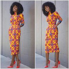 Ankara Gown Design for Ladies . Ankara Gown Design for Ladies African Print Dress Designs, African Print Fashion, Fashion Prints, African Prints, Ankara Fashion, Fashion Styles, Ghanaian Fashion, Fashion Ideas, Fashion Dresses