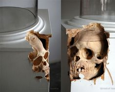 Really cool carvings by Maskull Lasserre. #Imgur