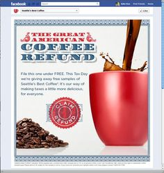 Great American Coffee Refund.