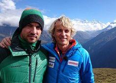 David Bisbal y Jesús Calleja en el Everest