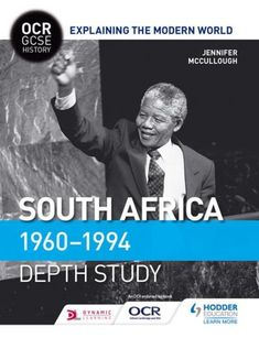 Buy OCR GCSE History Explaining the Modern World: South Africa by Jennifer McCullough and Read this Book on Kobo's Free Apps. Discover Kobo's Vast Collection of Ebooks and Audiobooks Today - Over 4 Million Titles! Modern World History, Motivate Yourself, Thought Provoking, Bestselling Author, Nonfiction, South Africa, Audiobooks, Ebooks, This Book