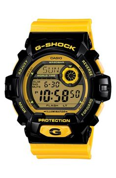 G-Shock 'Crazy Color' Digital Watch, 55mm | Nordstrom