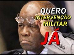JOAQUIM BARBOSA PEDE INTERVENÇÃO MILITAR APOS ACIDENTE COM ZAVASCKI