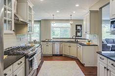 Parkhurst Kitchen- Eastbrook Homes, MI #Kitchen #KitchenIdeas #NewHome #InteriorDesign #EastbrookHomes #RealEstate