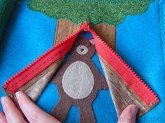 busy book tree bear
