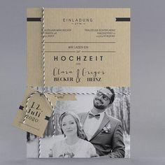 #Letterpress #Hochzeitskarten #kreativehochzeitskarten #einladungskarten  Gaultier M26 021 3 Teilige Hochzeitskarten