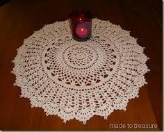 doilies crochet with beads - Google Search