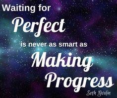 Have you made progress today? #MotivationMonday #inspiration #entrepreneur #SethGodin