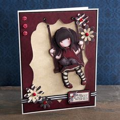 Gorjuss Swing Card | docrafts.com