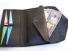 Leather wallet women/Leather Wallet Women's by HandmadeEK on Etsy, $79.00-SR