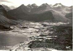 Tresfjord i Møre og Romsdal fylke Foto Harstad forlag 1950-tallet