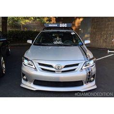Toyota Corolla Smoke Projector Headlights for Coupe Sedan