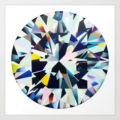 diamond+Art+Print+by+Takeru+Amano+-+$116.48