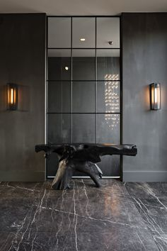 stone by hullebusch | tempory brown | natural beauty - entrance hall