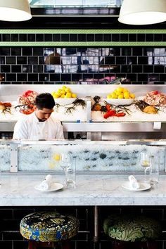 John Dory Oyster Bar Classy NYC Happy Hours That Aren't Crawling With College Bros via @PureWow